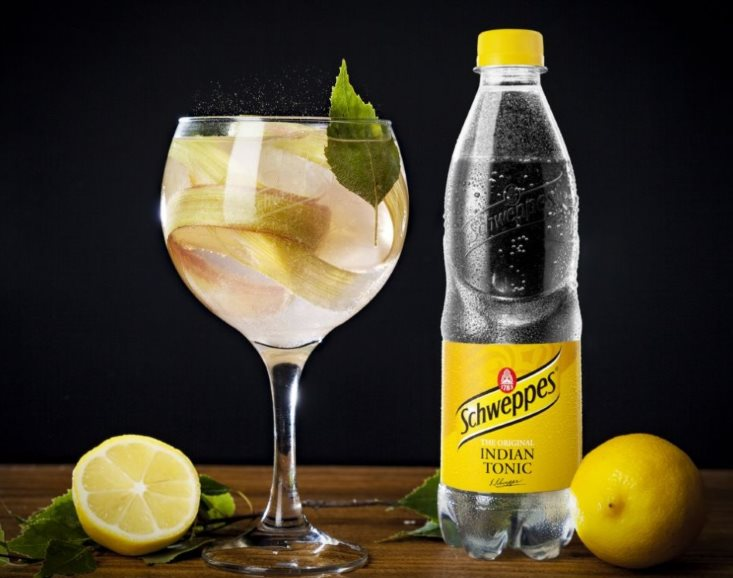Лимонный коктейл